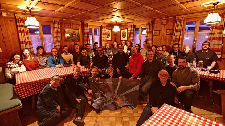 Ski hut winter seminar 2017